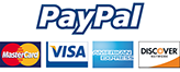 Paypal & Credit Cards Accepted