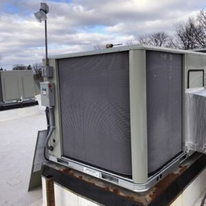 Rooftop HVAC Installation
